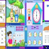 Program Belajar Pendidikan Anak Sekolah DVD Game Learning Kid Balita cerdas