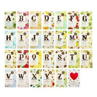 i need you alphabet mask etude house