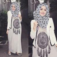 setelan azura hijabers / dress / gamis