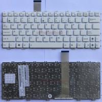 Keyboard Laptop Asus Eee Pc 1015 1015B 1015BX 1015CX 1015P 1015PE 1015PN 1015PX 1015TX 1016 1018 TF101 Series (White)