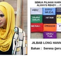 Jilbab LONG HANA bahan serena
