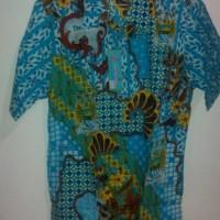 baju batik motif club bola KENCANA UNGU