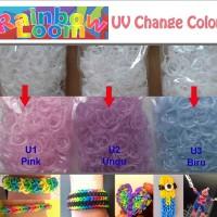 Rainbow Loom Refill - Loom Band Refill - UV Change Color