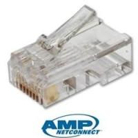 Connector AMP Cat5e original / PCS (satuan)