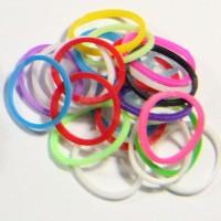 Rainbow Loom Refill - Loom Band Refill - Neon Solid Rainbow