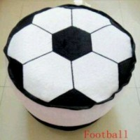 Air Sofa Kursi Balon Tiup Barang Mainan Unik Motif Bola Sepak Football