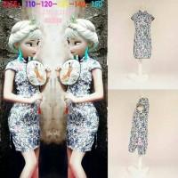 Dress cheongsam frozen brand samgami