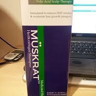 SHAMPO MUSKRAT anti DHT  menghentikan kerontokan kronis