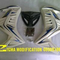 sayap half fairing transformer untuk honda cb150r streetfire