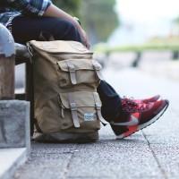 Tas Ransel Backpack Visval Majestic Gendong Branded Murah Bagus Keren