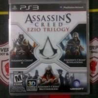 BD PS3 Assasin Creed Ezio Trilogy