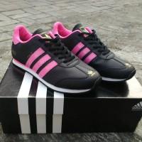 Sepatu Adidas Italy For Women ( Cewek ) Hitam Pink Keren Murah Terbaru