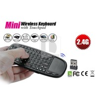 RIITEK Mini Wireless Keyboard with TouchPad & Laser Pointer