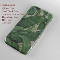 brilliant banana leaves,hard case,iphone case semua hp
