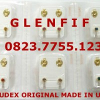 Anting Tindik Studex Original USA - Size MEDIUM Warna GOLD