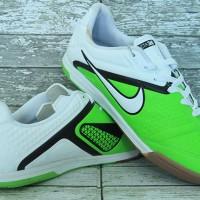 sepatu futsal Nike CTR 360 Putih Hijau Grade Ori