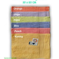 Handuk Muka Terry Palmer 35 x 80 cm / Handuk kecil Travelling / Towel
