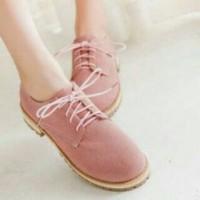 sepatu docmart pink
