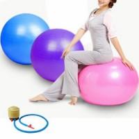 Gym ball Bola Fitness 65cm FREE POMPA Olahraga senam yoga exercise art