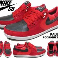 Sepatu Nike SB Paul Rodriguez Merah