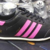 sepatu murah adidas italy hitam list pink + box