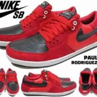 Special New Sepatu Nike SB Paul Rodriguez Merah I-056