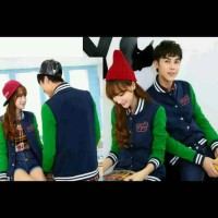 jaket couple rockstar