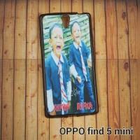 OPPO FIND 5 MINI R827 CASE CUSTOM - SOFTCASE SKIN CUSTOM GAMBAR / FOTO