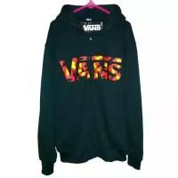 jaket/sweater vans zipper navy army