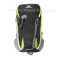 Tas Daypack Eiger 2228 Compact - Tas Outdoor,Tas Ransel Black/Green