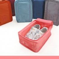 Monopoly Korean Travel Shoe Pouch / Shoe Back Rack / Tas Simpan Sepatu