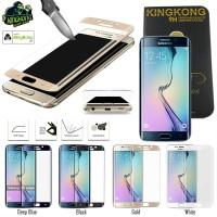Antigores Kingkong Full Curved Tempered Glass Samsung Galaxy S6 Edge