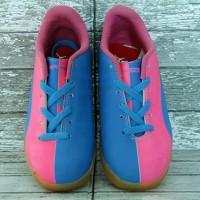 Sepatu Futsal Puma Evo Power Pink Biru Anak (futsal,anak,adidas,nike)
