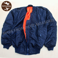 JAKET MIG MK-1 FIGHTERS BLUE