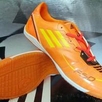 Sepatu Futsal Adidas F50 Adizero Orange KW Super Murah Berkualitas