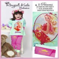 Royal Kids - RK1 N - small size piyama anak perempuan bordir - 0-1 tahun
