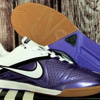 Sepatu Futsal Nike CTR 360 Putih Ungu Grade Ori Murah Berkualitas