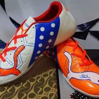 Sepatu Futsal Puma Evopower Putih Orange Murah Berkualitas