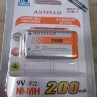 Baterai Cas 9 Volt Rechargeable Batre Batere Battery Charge
