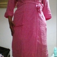 kimono baju handuk dewasa polos warna