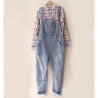 jumpsuit overall jeans boyfriend / baju kodok