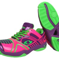 Sepatu Bulutangkis / Badminton Astec Thor Pink/Puple