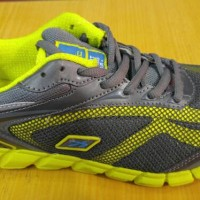 Spotec: Dynamo Running Shoes - Grey/Citroen
