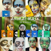 ANIMAL MASK / MASKER MUKA WAJAH BINATANG HARGA PER BOX ORIGINAL KOREA