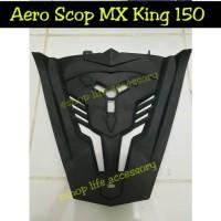 Aksesoris V -grill Aero scop yamaha MX king 150