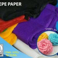 Crepe Paper (kertas krep)