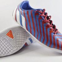 Sepatu Futsal Adidas Predator Absolado Instinct Blue Red