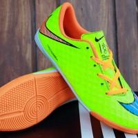 Sepatu Futsal Nike Hypervenom Hijau Stabilo KW Super(Bola,murah,soccer