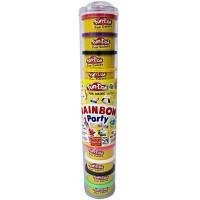 Fun Doh Rainbow Party Isi Lilin 12 Warna Pelangi Playdough