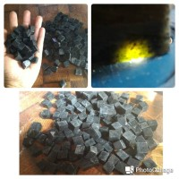 1 kg Bahan Tasbih musabah dari bahan Natural Black Jade